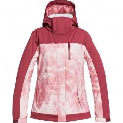 ROXY Jetty Block - Γυναικείο Snow Jacket - Silver Pink Tie Dye