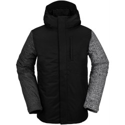 VOLCOM 17Forty Insulated - Men's snow Jacket - Black Check