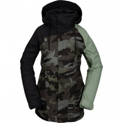 VOLCOM Westland - Women's Insulated snow Jacket - Service Green