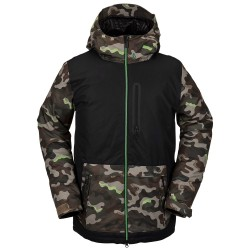 VOLCOM Deadly Stones Insulated - Men's snow Jacket - Army