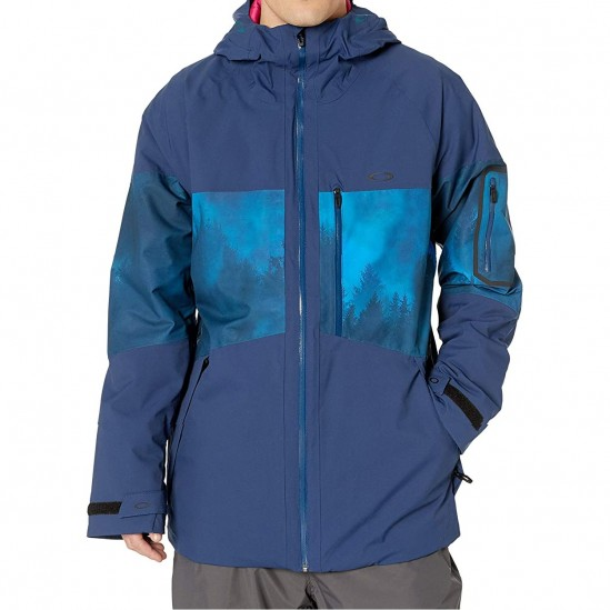 OAKLEY Cedar Ridge 2.0 Insulated 2L - Men's snow Jacket- Blue Forest
