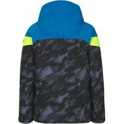ZIENER Atla Junior - Junior Snow Jacket - Black mountain camo