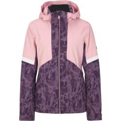 ZIENER Tahira Lady - Γυναικείο Snow Jacket - Violet Tie Dye