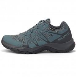 SALOMON WARRA GTX® - Women's hiking shoes - Stormy weather/Lead