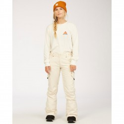 Billabong Nela - Women's Snow Pants - White cap