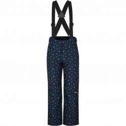 ZIENER Avatine Girls - Παιδικό παντελόνι σκι - Snowcrystal Print