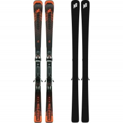 K2 DISRUPTION STi Skis + MXC 12 TCx Light Quikclik Bindings 2021