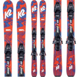 K2 Indy ski ​+ FDT 7.0 Bindings - Παιδικό σετ Ski