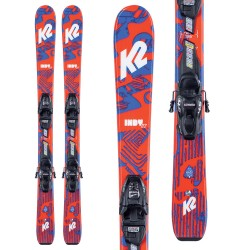 K2 Indy ski ​+ FDT 4.5 Bindings - Παιδικό σετ Ski