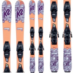 K2 Luv bug ski ​+ FDT 7.0 Bindings - Παιδικό σετ Ski