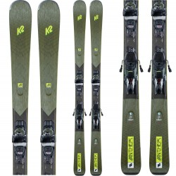 K2 Anthem 80 Women's Skis ​+ ERC 11 Tcx Light Quikclik Bindings 2021