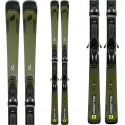 K2 DISRUPTION 78Ti Skis + MXC 12 TCx Light Quikclik Bindings 2021