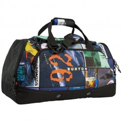Burton Boothaus 2.0 60L Large Duffel Bag - Catalog Collage Print