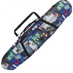 BURTON Board Sack - Snowboard Bag - Catalog Collage Print