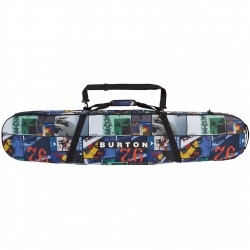 BURTON Space Sack Snowboard Bag - Catalog Collage Print