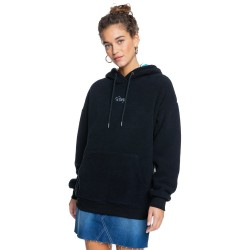 ROXY Call Me - Γυναικείο Sherpa Fleece - Anthracite