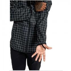 BURTON Men's Crown Weatherproof Full-Zip Fleece - True Black Performer Plaid