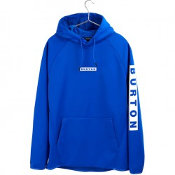 BURTON Men's Crown Weatherproof Pullover Fleece - Cobalt Blue