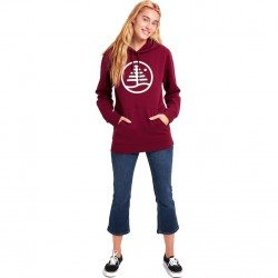 BURTON Family Tree Pullover Hoodie - Mulled Berry