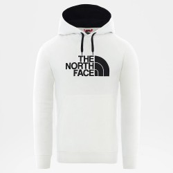 THE NORTH FACE Drew Peak - Ανδρικό Φούτερ - TNF White/TNF Black
