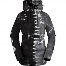 VOLCOM Costus Fleece Hoodie - Γυναικείο Φούτερ - Black on Black