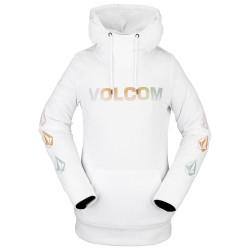 VOLCOM Costus Fleece Hoodie - Γυναικείο Φούτερ - White