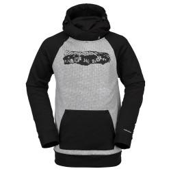 VOLCOM Hydro Riding - Men's Hoodie - White Combo
