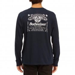 BILLABONG Bud Insignia - Long Sleeve T-Shirt for Men - Navy