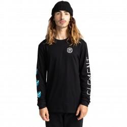 ELEMENT Ravana - Long Sleeve T-Shirt for Men - Flint Black