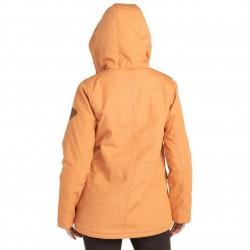 BILLABONG Facil Iti - Μακρύ αδιάβροχο γυναικείο μπουφάν - Sandstone