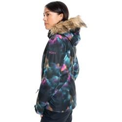 ROXY Jet Ski - Women's Snow Jacket - True Black Pensine