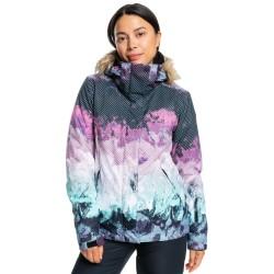 ROXY Jet Ski SE - Women's Snow Jacket - True Black Pokhara