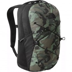 THE NORTH FACE Jester Unisex Backpack - Thyme Brushwood Camo Print/TNF Black