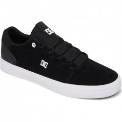 DC Hyde - Leather Shoes for Men - Black/Black/White