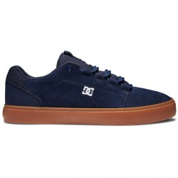 DC Hyde - Leather Shoes for Men - DC Navy/Gum
