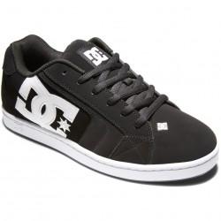DC Net - Leather Shoes for Men - Black/Black/White