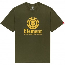 ELEMENT Vertical - T-Shirt for Men - Army