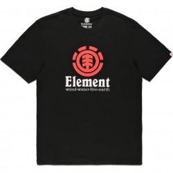 ELEMENT Vertical - T-Shirt for Men - Flint Black