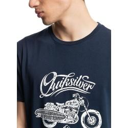 QUIKSILVER Top Of The Hour T-Shirt - Navy Blazer