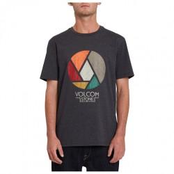 VOLCOM Splicer Short Sleeve - Ανδρικό Τ-shirt - Heather Black