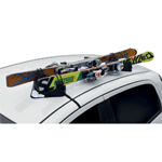 Magnetic ski racks