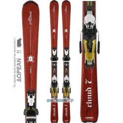ATOMIC CLOUD 7 WOMEN SKIS + 4TIX 310