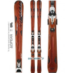 ATOMIC HIGHNOON SKIS + FN 12.90
