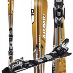 ATOMIC METRON M:10 SKIS + NEOX 310 BINDINGS