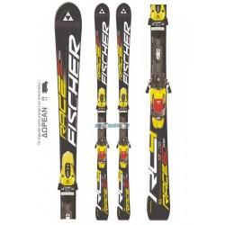 FISCHER RACE SC PRO SKIS + Z12 RAILFLEX