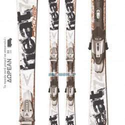 FISCHER  HEAT 74 SKIS + FS11 RAILFLEX
