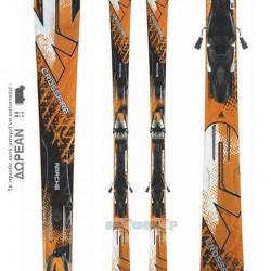 K2 APACHE CROSSFIRE Skis + Marker MX 12.0 Bindings 10