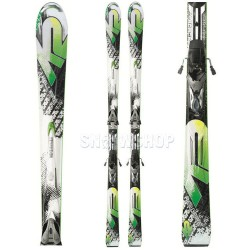 K2 APACHE HELLFIRE Skis + Marker M2 11.0 TC Bindings10