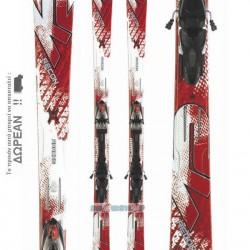 K2 APACHE RECON Skis + Marker MX 12.0 Bindings 10