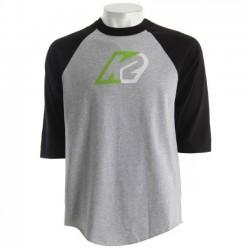 K2 BACKSIDE Black/Grey T-SHIRT